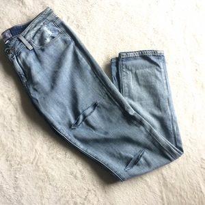 Paige Jimmy Skinny Distressed Skinny Jeans